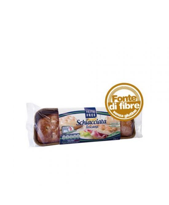 Nutri Free Schiacciata Toscana Focaccia Tipica Senza Glutine 170 g offerta