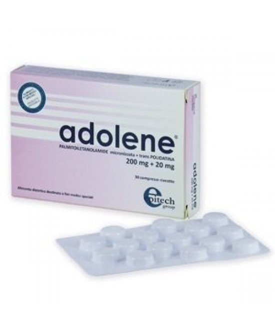 Adolene 200mg+20mg 30cpr - Farmafamily.it
