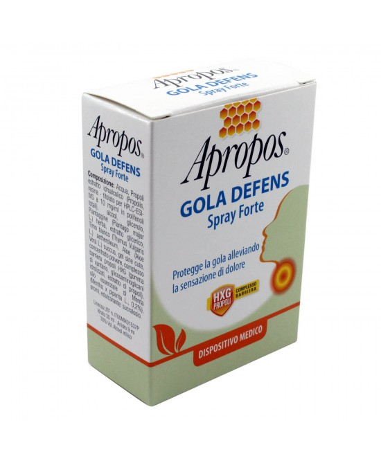 Apropos Gola Defens Spray Forte 20ml - Zfarmacia
