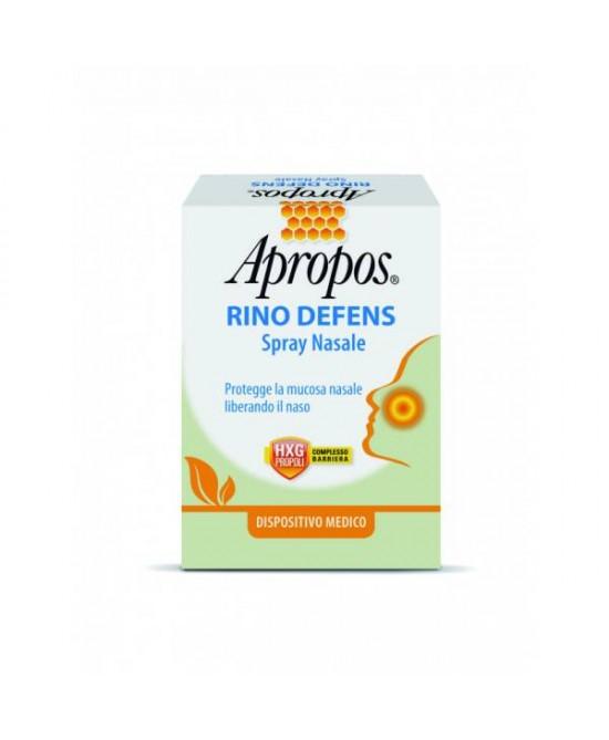Apropos Rino Defens Spray Nassale 20ml - FARMAEMPORIO