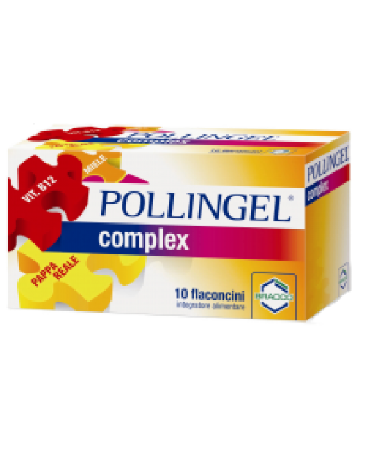 Bracco Pollingel Complex  Integratore Alimentare 10 Flaconi Da 10ml - Farmafamily.it