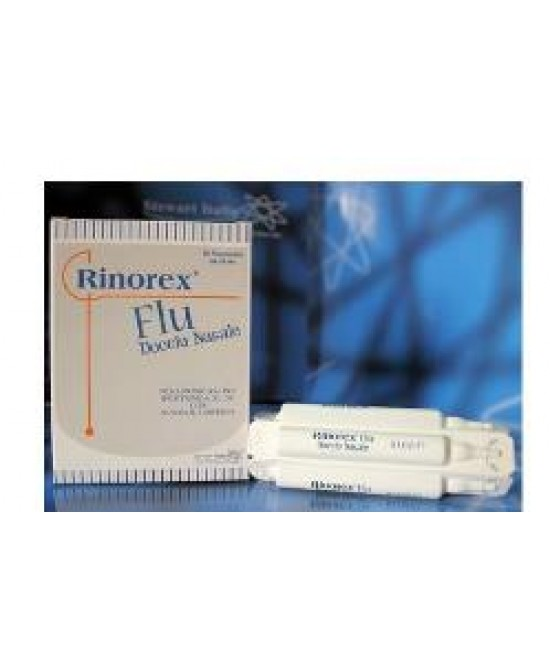 Rinorex Flu Doccia Nasale 10fl - Farmia.it