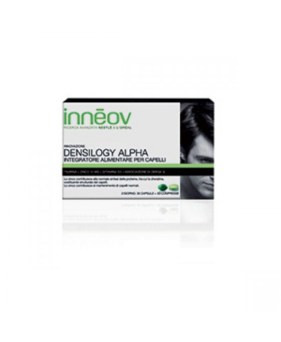 Innéov Densilogy Alpha Integratore Per Capelli 60 Compresse - Farmapc.it