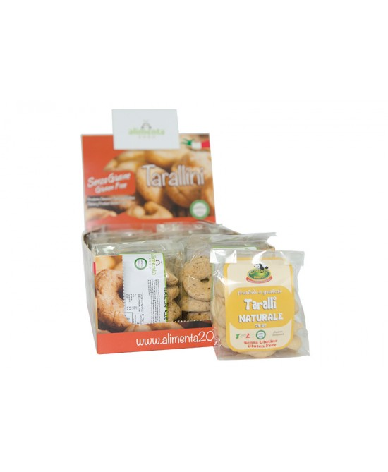 Alimenta 2000 Tarallini Al Naturale Senza Glutine 75 g offerta