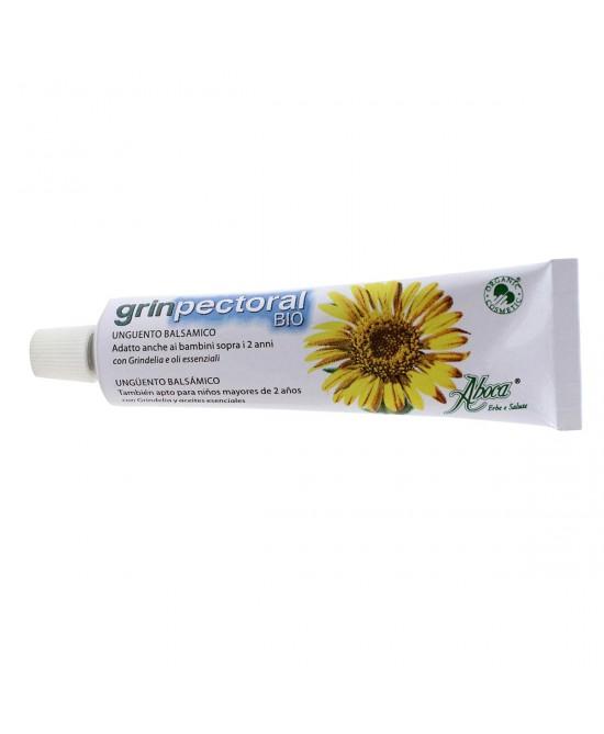 Aboca GrinPectoral Bio Unguento Balsamico 30g - farma-store.it