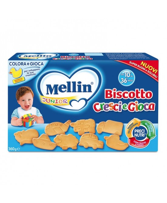 Mellin Biscotti Biscotto Cresci E Gioca 360 g
