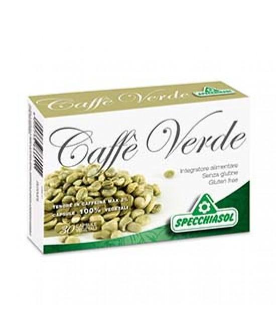 SpecchiaSol Caffe' Verde 30 capsule vegetali (scade 11/2020) -