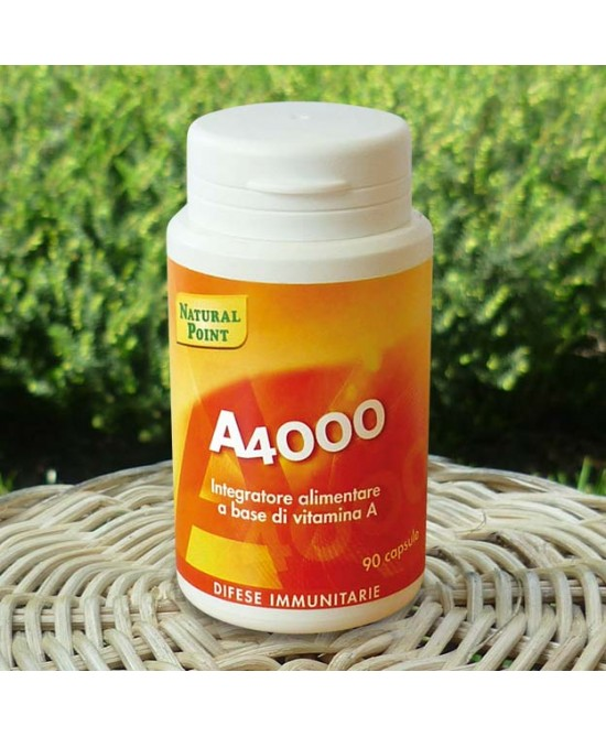 Natural Point A 4000 Integratore 90 Capsule
