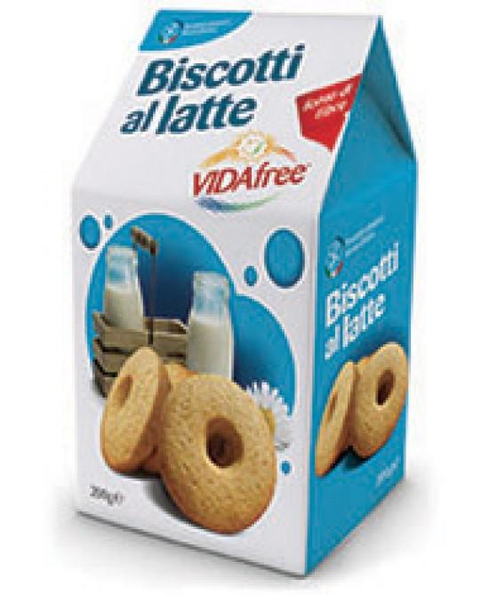 Vidafree Biscotti Al Latte Senza Glutine 200g