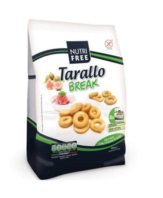 NutriFree Tarallo Break Senza Glutine 8x30g - FARMAPRIME