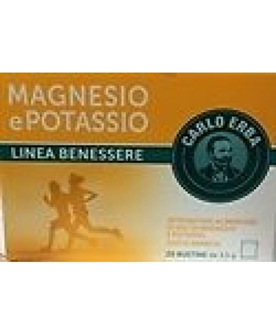 Carlo Erba Magnesio Potassio 20 Bustine - Sempredisponibile.it