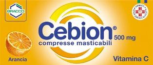 CEBION 500*20CPR MAST ARANCIA - Farmaunclick.it