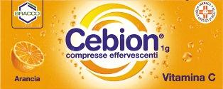 CEBION*10CPR EFF 1G ARANCIA - farmasorriso.com