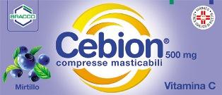 CEBION 500*20CPR MAST MIRTILLO - farmasorriso.com