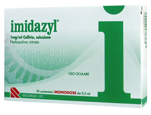 Imidazyl Collirio 1mg/ml 10 Flaconcini Monodose 0,5ml - Arcafarma.it