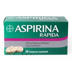 ASPIRINA RAPIDA*10CPRMAST500MG - Farmafamily.it