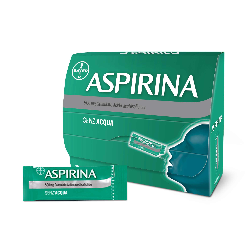 ASPIRINA*OS GRAT 20BUST 500MG - Nowfarma.it