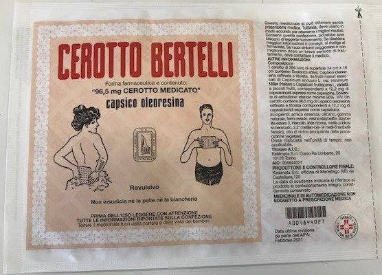 CEROTTO BERTELLI*GRANDECM16X24 - Farmapage.it