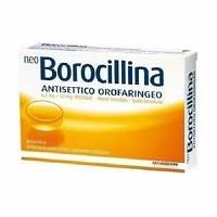 NeoBorocillina Antisettico Orofaringeo 6,4mg + 52mg Arancia 20 Pastiglie - FARMAPRIME