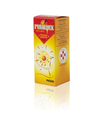 PYRALVEX*FL 10ML 0,5%+0,1% GEN - Farmacia 33