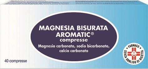 MAGNESIA BISURATA AROM*40CPR - Farmajoy