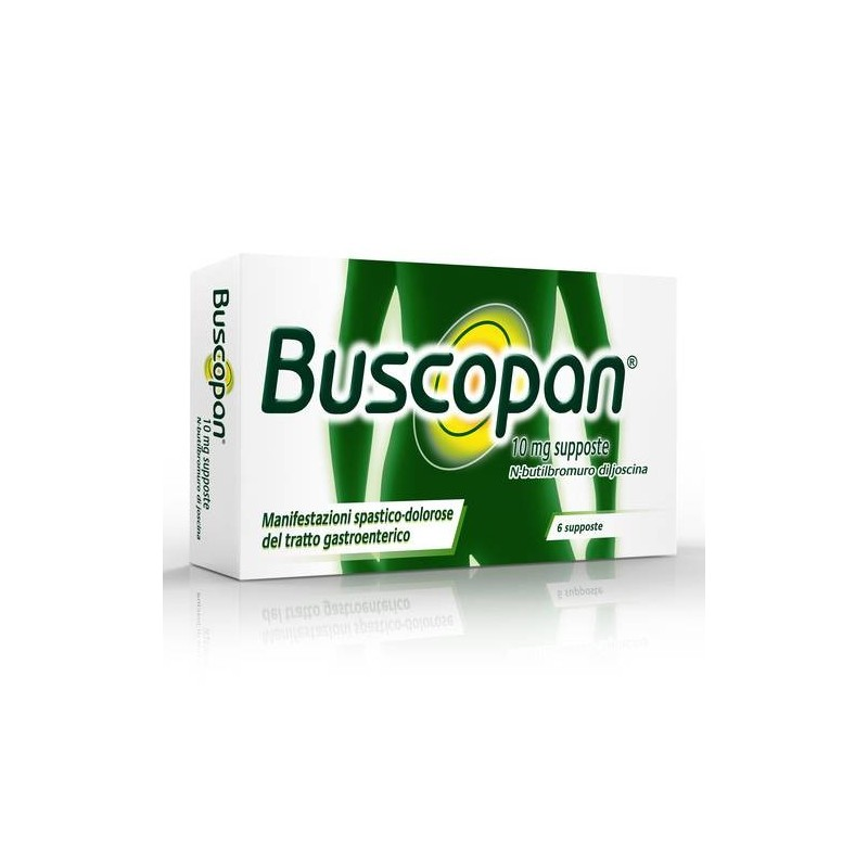 BUSCOPAN*6SUPP 10MG - Farmawing