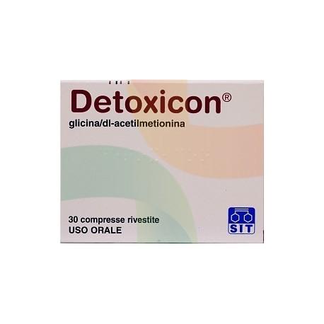 DETOXICON*30CPR RIV - Parafarmacia la Fattoria della Salute S.n.c. di Delfini Dott.ssa Giulia e Marra Dott.ssa Michela