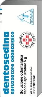 Teofarma Dentosedina 9,5+1,15% Spruzzatore Odontalgico Analgesico Dentario Uso Esterno Flacone 5g - Farmacielo