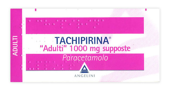 Tachipirina Adulti 1000mg Supposte Angelini  Per Febbre E Dolore 10 Supposte - Farmawing