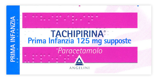 Tachipirina Prima Infanzia 125mg Supposte Angelini Per Febbre E Dolore 10 Supposte - Farmawing
