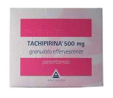 TACHIPIRINA 500MG GRANULATO EFFERVESCENTE 20BS - FARMAEMPORIO