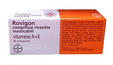 ROVIGON*30CPR RIV MAST - Zfarmacia