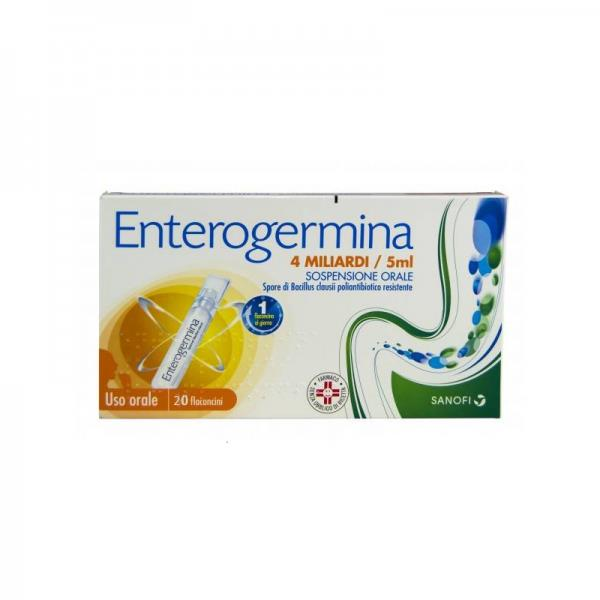 ENTEROGERMINA*OS 20FL 4MLD 5ML - FARMAPRIME