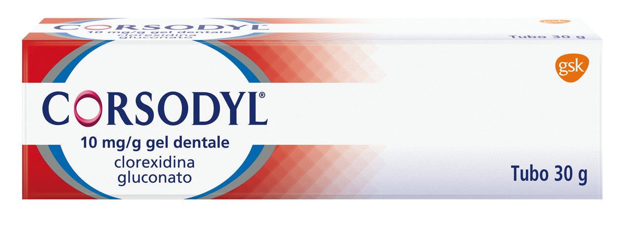 CORSODYL*GEL DENT 30G 1G/100G - Farmaunclick.it