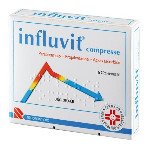 INFLUVIT*16CPR 150+300+150MG - SUBITOINFARMA