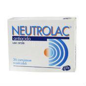 Neutrolac Antiacido 36 Compresse Masticabili - Farmajoy