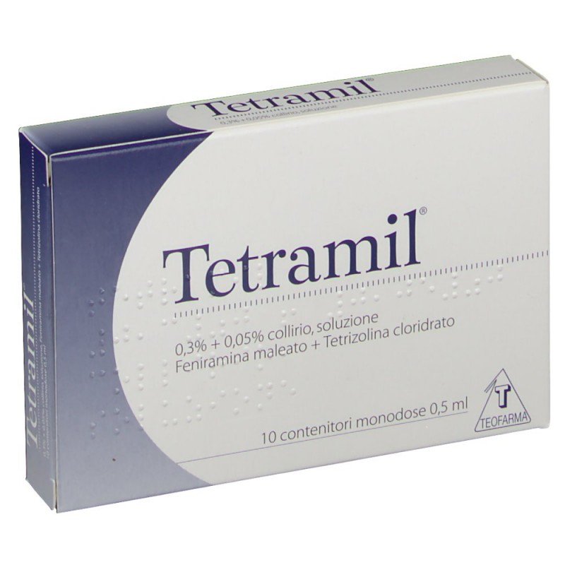 TETRAMIL*10FL MONOD 0,5ML - Farmastar.it