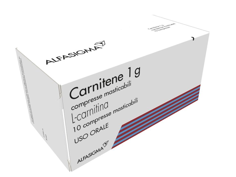 CARNITENE*10CPR MAST 1G - Farmaci.me