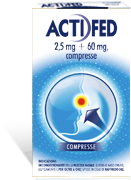 ACTIFED*12CPR 2,5MG+60MG - Spacefarma.it