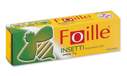 FOILLE INSETTI*CREMA 15G 0,5% - Zfarmacia
