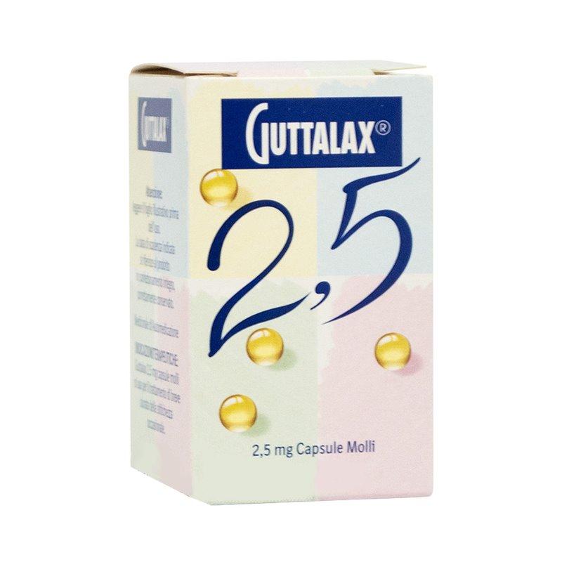 GUTTALAX*30CPS MOLLI 2,5MG - farmaventura.it