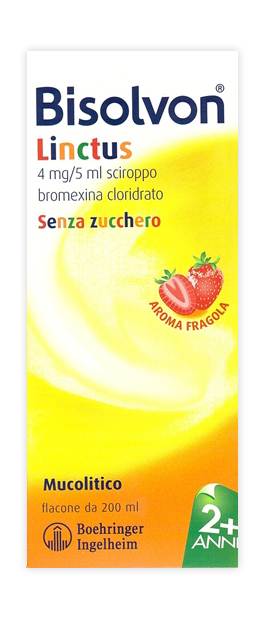 BISOLVON*SCIR FL 200ML FRAGOLA - Farmawing