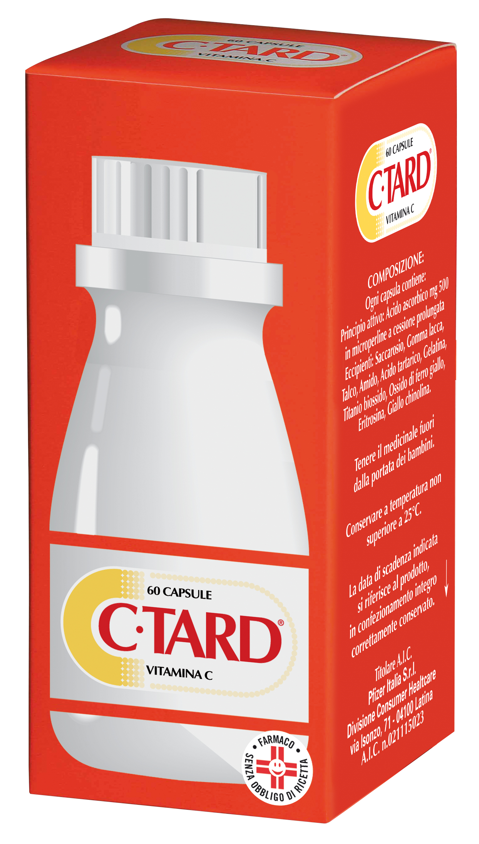CTARD*60CPS 500MG RP FL - Spacefarma.it