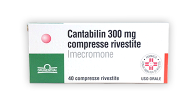 CANTABILIN*40CPR RIV 300MG - FARMAPRIME