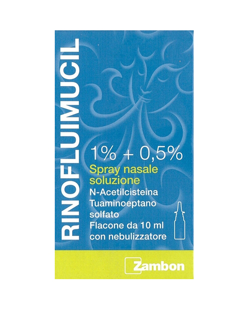 RINOFLUIMUCIL*SPRAY NAS 10ML - Spacefarma.it