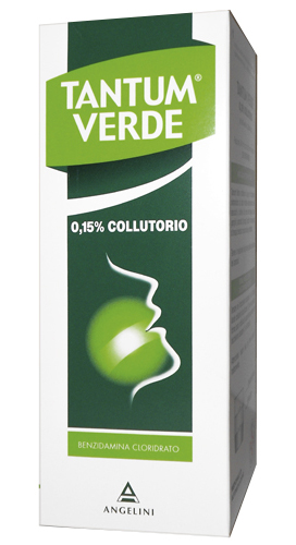 TANTUM VERDE*COLLUT 240ML0,15% - Farmacia 33
