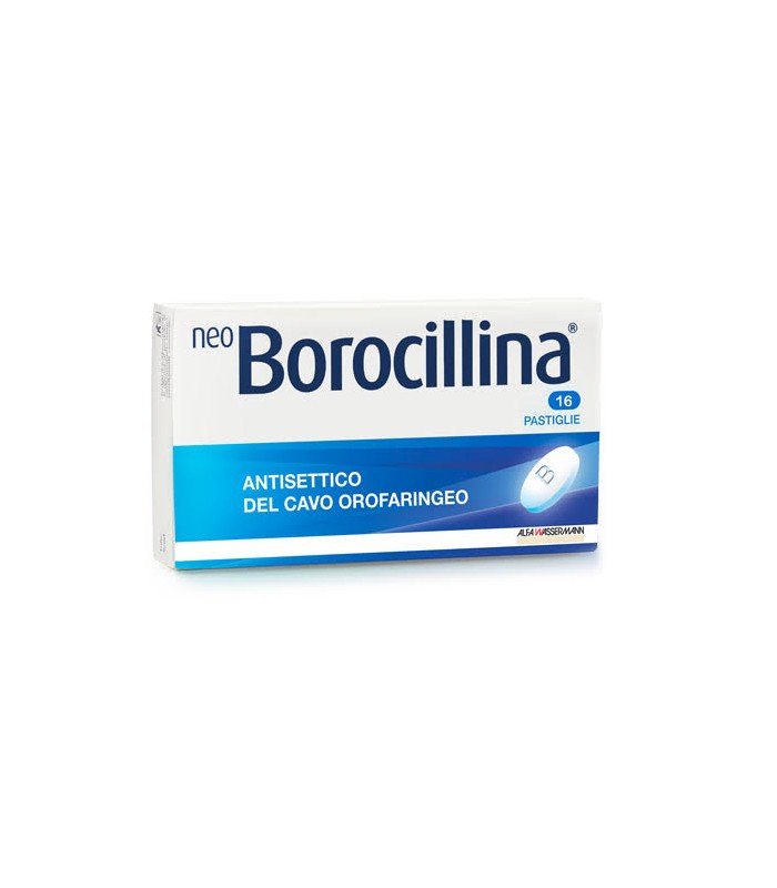 NEOBOROCILLINA*16PAST 1,2+20MG - Farmaci.me
