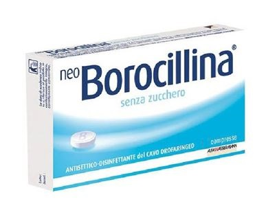 NEOBOROCILLINA*16PAST S/Z - Farmaciaempatica.it