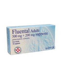 FLUENTAL*AD 10SUPP 500MG+200MG - Nowfarma.it