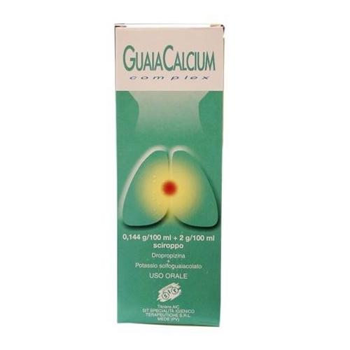 GUAIACALCIUM COMPLEX*SCIR200ML - latuafarmaciaonline.it